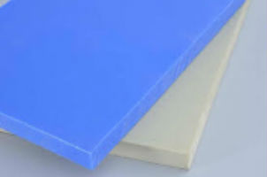 "Plastic Jig Stock - Silicone Filled UHMW-PE - 12"" x 12"""