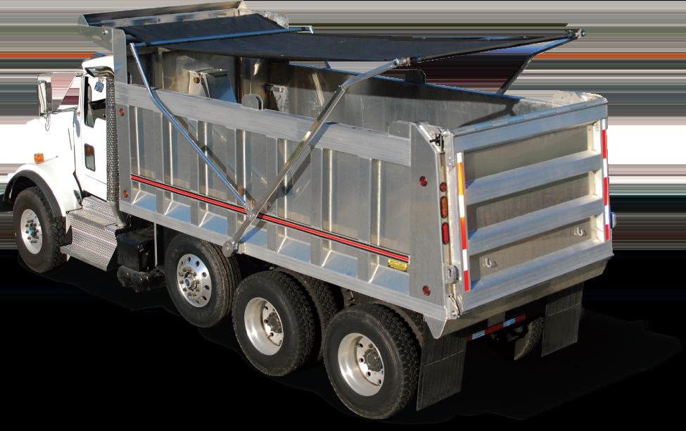 Aero easy cover 575 electric arm tarp kit mentor dynamics for Dump truck electric tarp motors